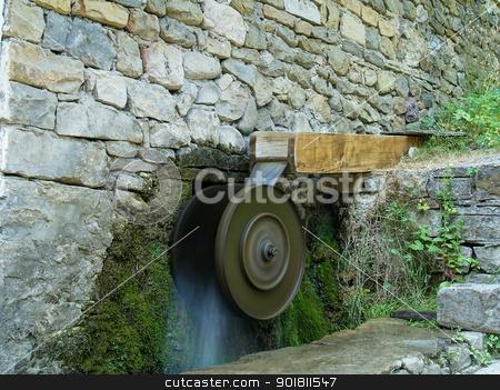 Old turbine stock photo,  by Konstantin Iliev