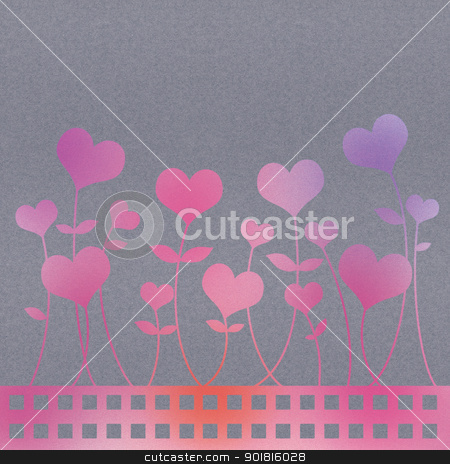 Recycle paper valentine flower background for romance, wedding a stock photo, Recycle paper valentine flower background for romance, wedding and valentine day by jakgree
