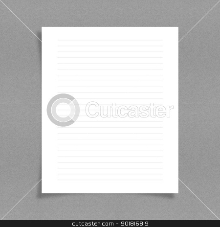 note paper with line on board background stock photo, note paper with line on board background by jakgree
