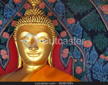 Buddha statue in Thailand stock photo, Buddha statue in Thailand by jakgree