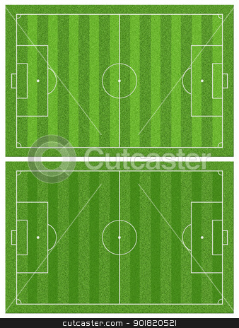 football grass field stock photo, football grass field by jakgree