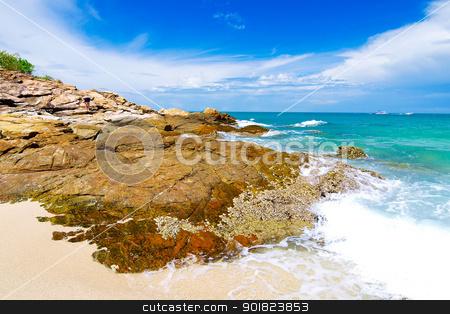 Idyllic Scene Beach at Samed Island,Thailand stock photo, Idyllic Scene Beach at Samed Island,Thailand by jakgree