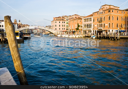 Venice stock photo, Famous Grand Canal and typical venetian architecture, Venice by Alexey Popov