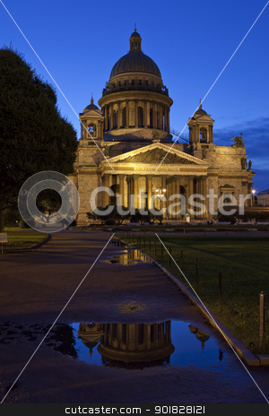 St. Isaac's Cathedral in St Petersburg stock photo, St. Isaac's Cathedral in St Petersburg, Russia. by Chris Dorney