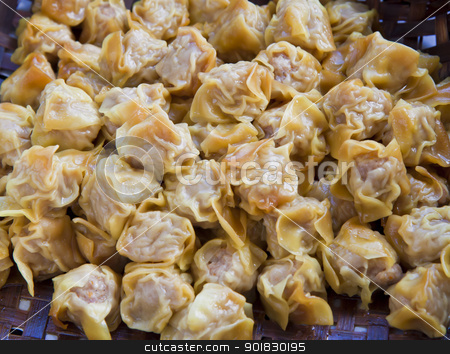 Chinese steamed dimsum  stock photo, steamed dumpling dim sum, Traditional chinese cuisine  by thepoo