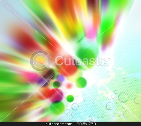 Abstract Motion Background stock photo, Abstract with blurred colours on soft wet background. by Liviu Peicu