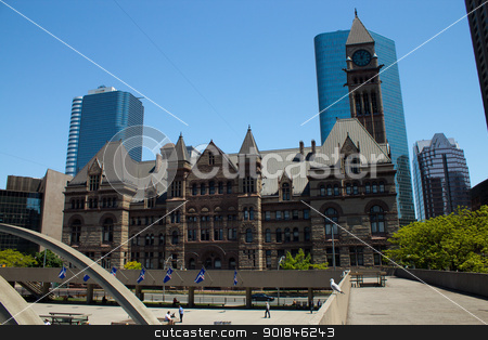 Old Toronto City Hall - Toronto, Canada stock photo, Old Toronto city hall from 1899 to 1966. by Click Images