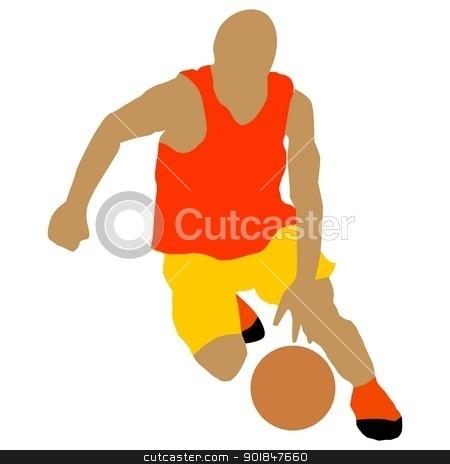 Basketball stock vector clipart, Kind of sport series of illustration. Basketball by Oleksandr Kovalenko