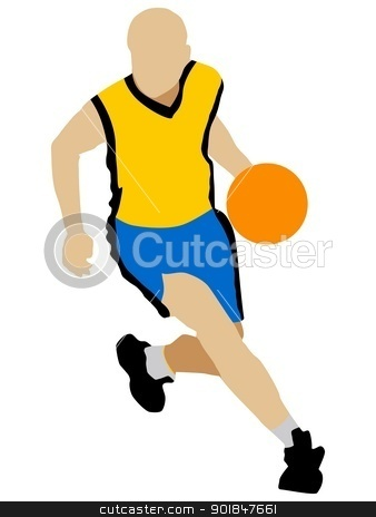Basketball stock vector clipart, Kind of sport series of illustration. Basketball by Oleksandr Kovalenko