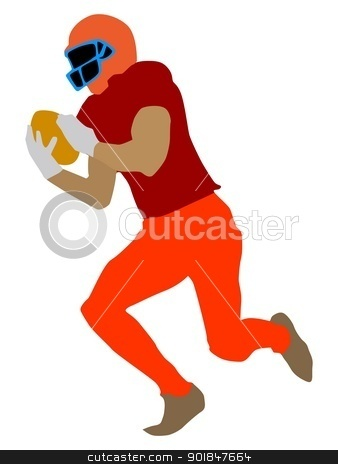 Football stock vector clipart, Kind of sport series of illustration. Football by Oleksandr Kovalenko