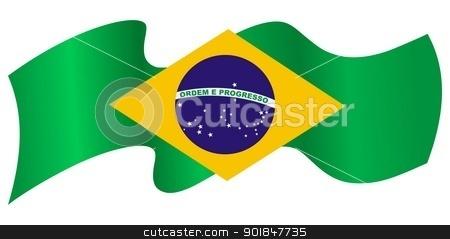 Symbols of Brazil stock vector clipart, Symbols of Brazil by Oleksandr Kovalenko