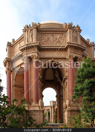 Exploratorium San Francisco stock photo, Exploratorium San Francisco palace of fine arts by Henrik Lehnerer
