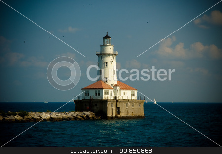 Lighthouse Direct stock photo,  by The Photo Bee