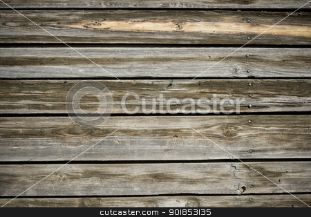 Wood stock photo, Old wooden planks texture, close up by Alexey Popov