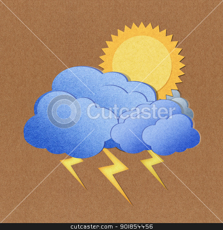 Weather grunge  paper texture on brown background stock photo, Weather grunge  paper texture on brown background by jakgree