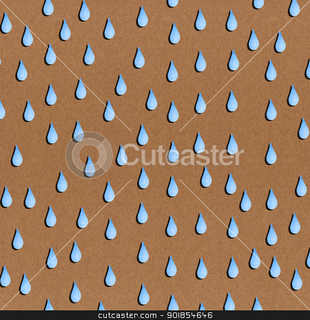 Paper texture seamless rain pattern on brown background stock photo, Paper texture seamless rain pattern on brown background by jakgree