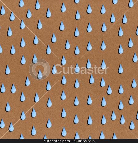 Paper texture seamless rain pattern on brown background stock photo, Paper texture seamless rain pattern on brown background by jakgree