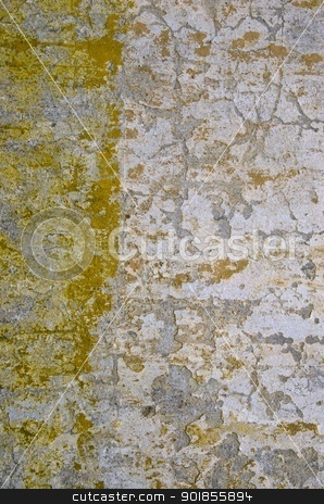 Ancient collapsing old building wall background.  stock photo, Ancient collapsing old building wall background. Old architecture details.  by sauletas
