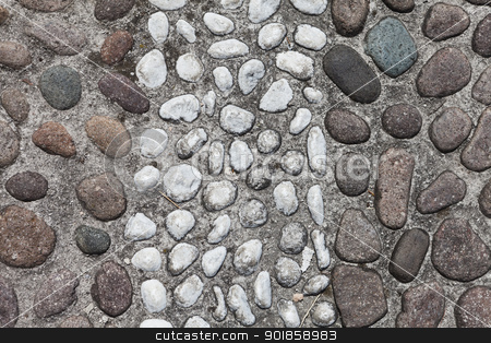 Stone Wall stock photo, Stone Wall Background Full Frame by Anne-Louise Quarfoth