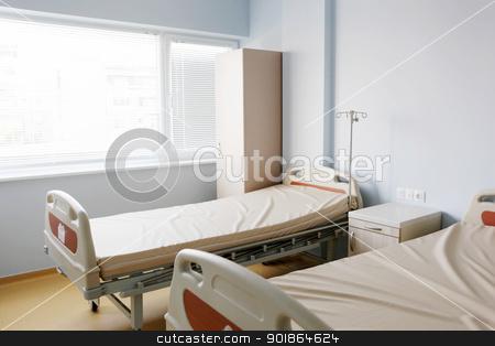 hospital stock photo, hospital interior. by Nenov Brothers Images