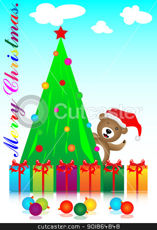 merry christmas stock photo, merry christmas festival for the happy and fun  by Cherdchoosak Ngernsiam