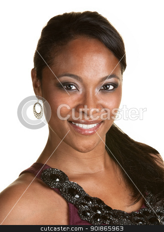 Confident Lady stock photo, Close up of a young confident Black woman by Scott Griessel