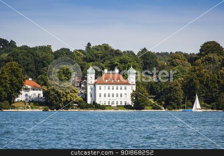 Pocci Castle at Starnberg lake stock photo, An image of the Pocci Castle at Starnberg lake by Markus Gann