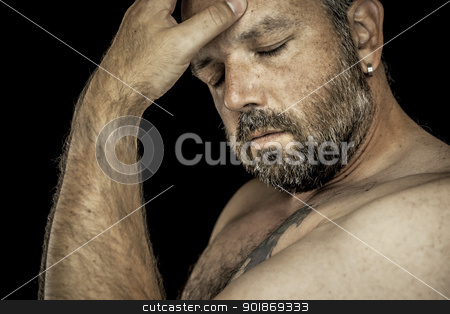 man with beard stock photo, An image of a handsome man with a beard by Markus Gann