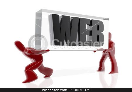 Web move stock photo, Web move by genialbaron