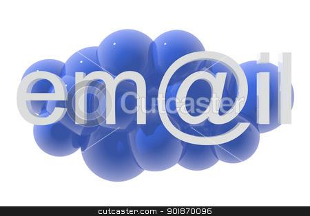 E-mail icon  stock photo, E-mail icon  by genialbaron
