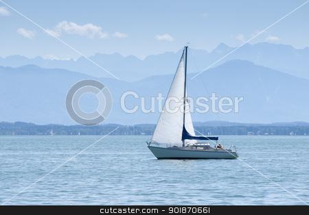 Starnberg Lake in Germany stock photo, An image of the Starnberg Lake in Germany by Markus Gann
