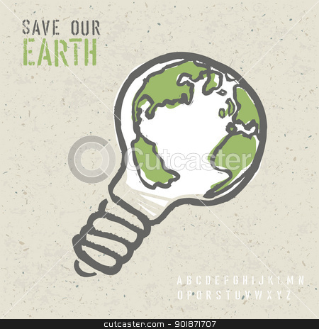 Global ecology concept. Vector, EPS10 stock vector clipart, Global ecology concept. Vector, EPS10 by pashabo