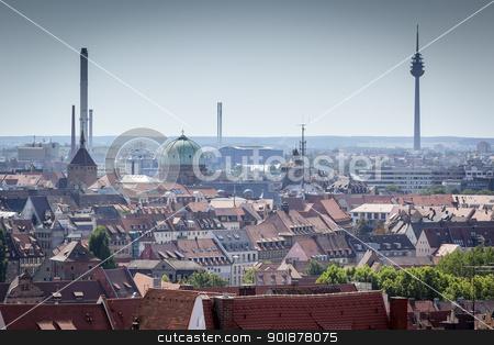 Nuremberg stock photo, An image of Nuremberg in Bavaria Germany by Markus Gann