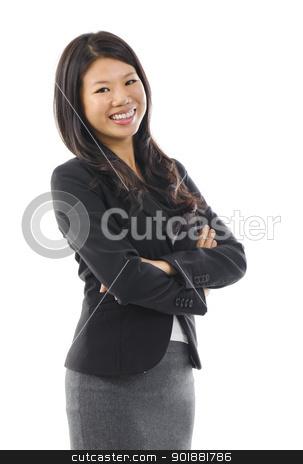Asian woman. stock photo, Smiling Asian Educational / Business woman. by szefei