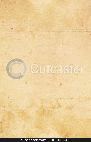 Old, stained paper background  stock photo, Old, stained, grungy paper background  by Juliet Photography