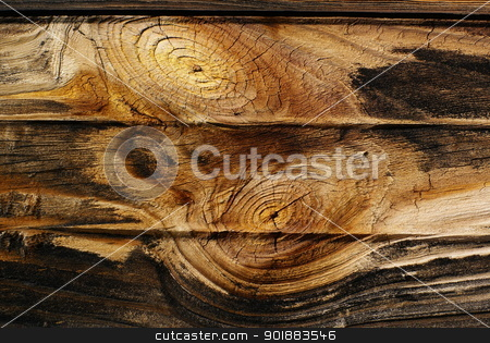 Old board with knots. stock photo, Old rough, boards background with knots. by Piotr Skubisz