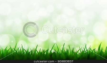 Natural green background with bokeh background stock photo, Natural green background with bokeh background by jakgree