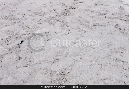 Gray sandy background stock photo, Abstract background of textured grey or gray sand on beach. by Martin Crowdy