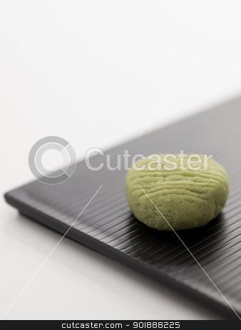 wasabi stock photo, close up of japanese wasabi pellet by zkruger