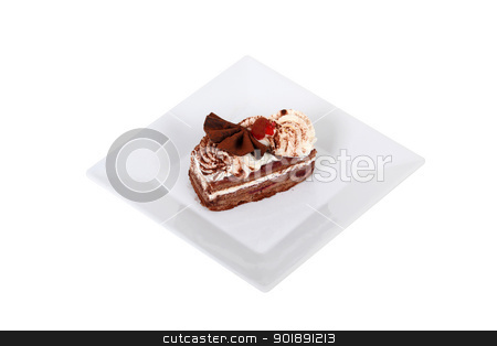 Chocolate dessert stock photo, Chocolate dessert by photography33