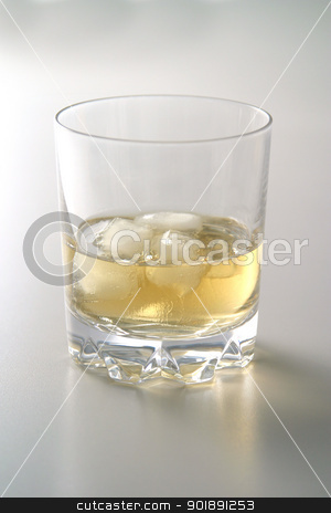 Glass of whiskey stock photo, Glass of whiskey by photography33