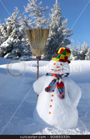 Snowman stock photo, Snowman by photography33