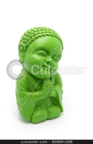 Green Buddha figurine stock photo, Green Buddha figurine by photography33