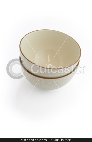 Two bowls stock photo, Two bowls by photography33