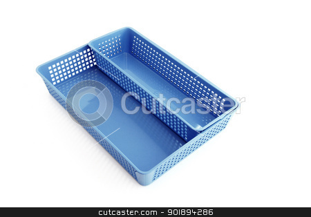 Blue cutlery tray stock photo, Blue cutlery tray by photography33