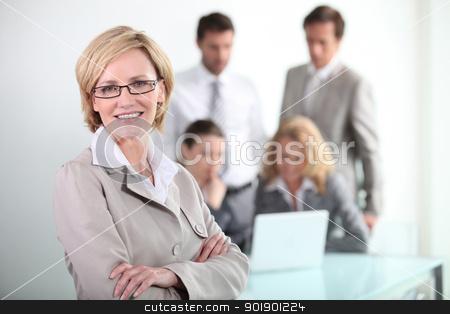 portrait of a businessteam stock photo, portrait of a businessteam by photography33