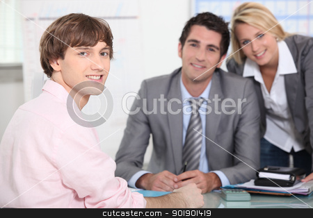 Office work stock photo, Office work by photography33