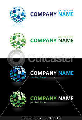 Company name. Design elements. stock photo, Company name. Design elements. Illustration. by dvarg
