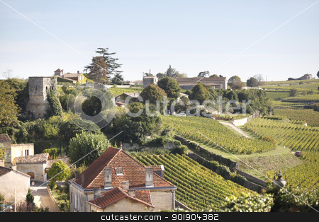 Picturesque French countryside stock photo, Picturesque French countryside by photography33