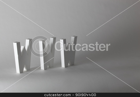 Initials www stock photo, Initials www by photography33